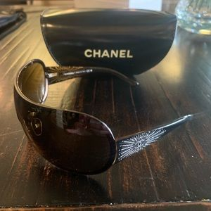 Authentic Chanel Swarovski crystal sunglasses
